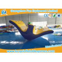 Buy cheap Amazing Inflatable Water Totter Blow Up Water Park Heat Sealing For Kids / Adults product
