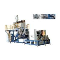 Buy cheap Huge Calibre Hollow Wall Winding Pipe Extrusion Line product