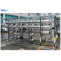 Buy cheap RO Filtration Industrial Water Treatment Systems Salty Removal Active Carbon product