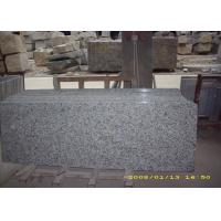 Eased Edge White Granite Slab Countertops Granite Vanity Tops For Bathroom