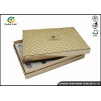 Buy cheap Folding Cardboard Gift Boxes Charming Silver Printing / Decorative Paper Boxes product
