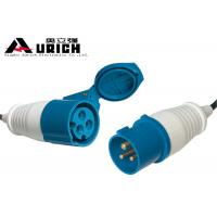 Buy cheap Durable European Power Cord Extension Lead 110V 20M For Industrial Equipment product