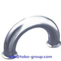 Buy cheap Butt Welding Pipe Fittings Carbon Steel Elbow 180 Elbow For Petroleum , Chemical product