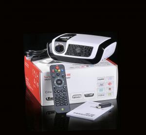 Buy cheap 500 Lumens HD Home Cinema Projectors with USB TV HDMI USB AV product