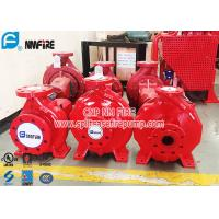 Buy cheap UL FM Double Authentication Single Stage End Suction Pump , Diesel Engine Fire Pump product