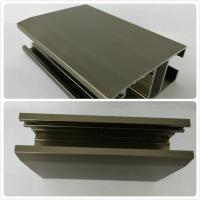 Buy cheap T4  T5 Oxidizing Bronze Anodized Aluminum Channel With Customized Shape product