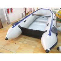Buy cheap Pvc Tarpaulin 12 Foot Inflatable Boat , Rigid Inflatable Dinghy For Adult product