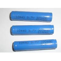 Non-toxic 3.7V 320mAh 10440 Lithium Ion Ultra High Energy Density Rechargeable Batteries