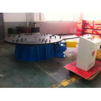 China Manual Horizontal Rotary Table / Rotary Work Table Positioners on sale