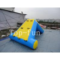 Buy cheap Commercial 0.9mm PVC Tarpaulin Inflatable Big Air Slide / Blob For Water Park product