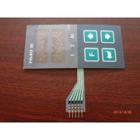 Buy cheap Custom Colored PCB Membrane Switch For Medical Equipment , Flexible Circuit product
