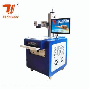 Buy cheap High Precision UV Laser Marking Machine , Laser Etching Equipment 3w 5w 7w product