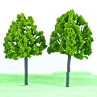 Buy cheap HO scale Architectural model Plastic trees, street model trees product