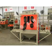 Buy cheap Dustless Glass Bead Blasting Equipment Industrial Cabinet Surface Preparation product