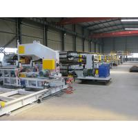 Buy cheap Mitsubishi PLC PU Sandwich Panel Production Line 380V 3 Phase for Cold Storages product