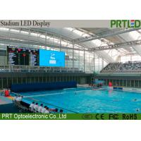 Buy cheap 2 Years Warranty P6 Stadium LED Screens For Sports Perimeter Advertising product