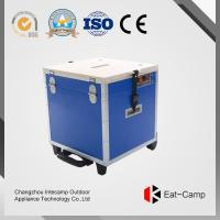 Buy cheap 3 KW * 2 Outdoor Cooking Station Of EATCAMP Foldable Table Double With Gas Cylinder Stoves For BBQ Party product