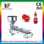 Buy cheap Hot-Sales Single head Semi-automatic Pneumatic hand cream filling machine product