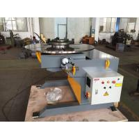 China Automatic Welding Positioners 3 Ton Tilting / Rotation Capacity CE Oil - free Gearbox on sale