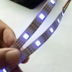 Buy cheap rgb digital addressable led strip 5050 apa104 72pixels rgb led strip product
