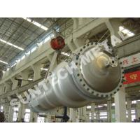 150 sqm Double Tube Shell And Tube Type Heat Exchanger7 Tons Weight