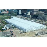 Buy cheap Heat Resistant TFS Tents 40 x 90 M With Fire Retardant White PVC Fabric For Events product