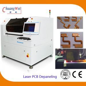 Buy cheap FPC / PCB Laser Depaneling Machine,Pcb Laser Cutting Machine product