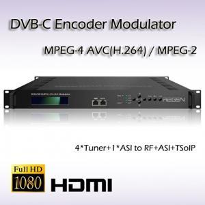 Buy cheap DVB-S2 TO DVB-C Four-Channel Re-Modulator REM7004 product