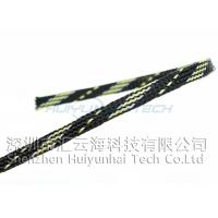 Buy cheap PET Expandable Braided Abrasion Resistant sleeving For Electrical Cable product