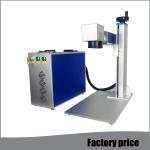 Buy cheap Metal Fiber Mini Laser Marking Machine EZCAD Software Low Power Consumption product