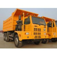 Buy cheap HOWO Tipper 6x4 SINOTRUK Dump Truck / Mining Dump Truck 70 Ton 371HP Manual Transmission product