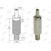 Buy cheap Brass Material Aircraft Cable Grippers / Wire Cable Grippers With M 6 Male Thread product