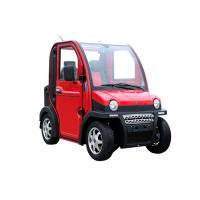 Buy cheap Four Wheels Electric Vehicle Car , 60V 2800W 2 Passenger Automatic Electric Car product
