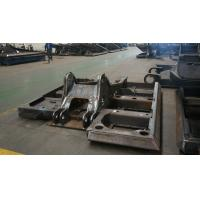 Buy cheap Alloy Steel Q235 Excavator Spare Parts Chassis , Big Steel Welding Structural Fabrication product