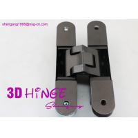 Buy cheap Concealed Invisible Door Hinges Satin Nickel Finish For Heavy Internal Doors product