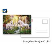 Buy cheap Full Color Animated Postcards , Two Sides Custom Lenticular Printing 0.6 MM PET product