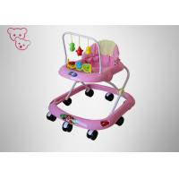 China Toy Tray Musical Baby Walker , Safety First Baby Walk Multi Height Adjustment on sale