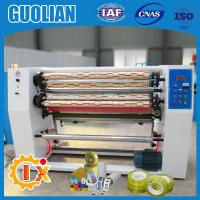 Buy cheap GL-215 Factory outlet bopp tapes slitting and rewinding machine product