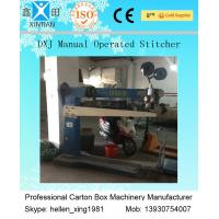 Buy cheap Manual Automatic Cartoning Machine , Box Production Single And Double Nails Forms product