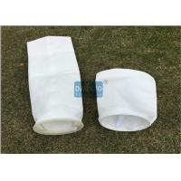 Quality Super Long Life Liquid Filter Bags With Glazed Layer Securing Downstream Matrix for sale