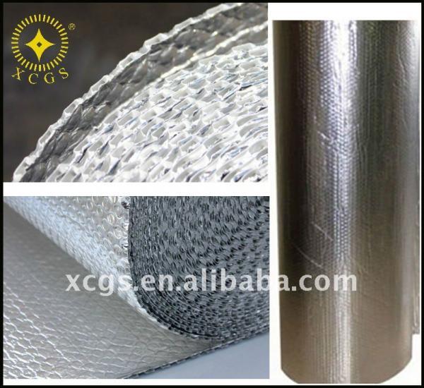 Aluminum Foil Windows : Reflective aluminum foil double layer bubble window heat