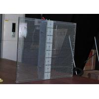 Buy cheap 20mm Advertising Transparent  Led Display Grille Led Screen 960 X 640mm product