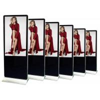 China Android Wifi Floor Standing LCD Advertising Display 55 Inch Multi Point IR Touch on sale