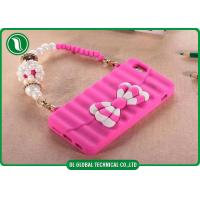 China Creative Butterfly Knot Handbag Silicone iPhone Cell Phone Cases For Iphone 6 on sale