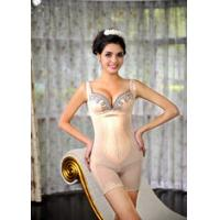 Buy cheap Body Shaping Underwear Thin Shape Wear Shaper with Lace Siamese Corset Slimming Cloth for Women LT116 product