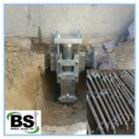 China Steel Helical Underpinning earth screw anchors brackets on sale