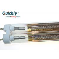 Buy cheap Medium Wave Quartz Tube Infrared Heaters High Efficiency For Powder Coating Ovens product
