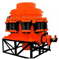 Industrial Mobile Spring Stone Cone Crusher Machine Small Scale Mining Equipment