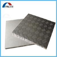 Buy cheap High strength Anti-slip Diamond Embossed finish Aluminum Honeycomb Composite Panel For flooring product