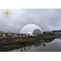 Buy cheap Snow Load Geodesic Dome Tent Steel Structure For Fashion Show Exhibition product